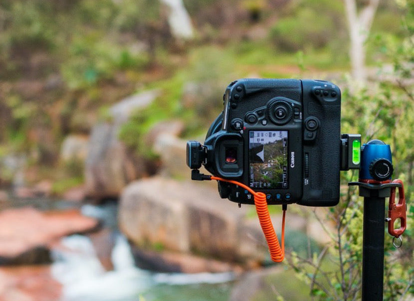 MIOPS RemotePlus shooting long exposure photograph