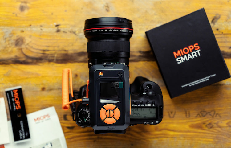 MIOPS Smart+ Camera Trigger for Still Life Photography