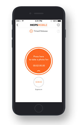 MIOPS Mobile App Timed Release