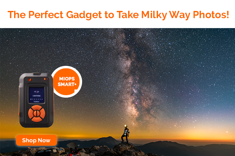 MIOPS Smart+ Milky Way Photography