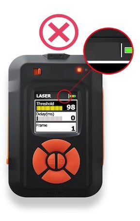 MIOPS laser not matched