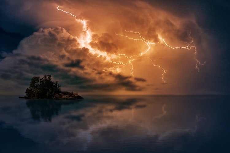Lightning Strike Photography