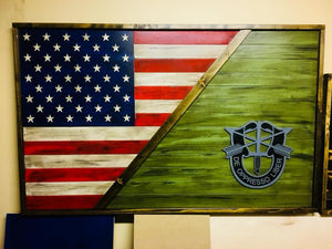"30""x48"" SPLIT COLOR FLAG"
