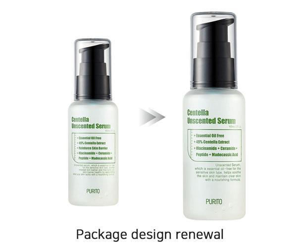 Purito Centella Unscented Serum, 60ml