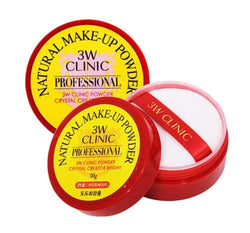 3w clinic professional natural make up setting powder