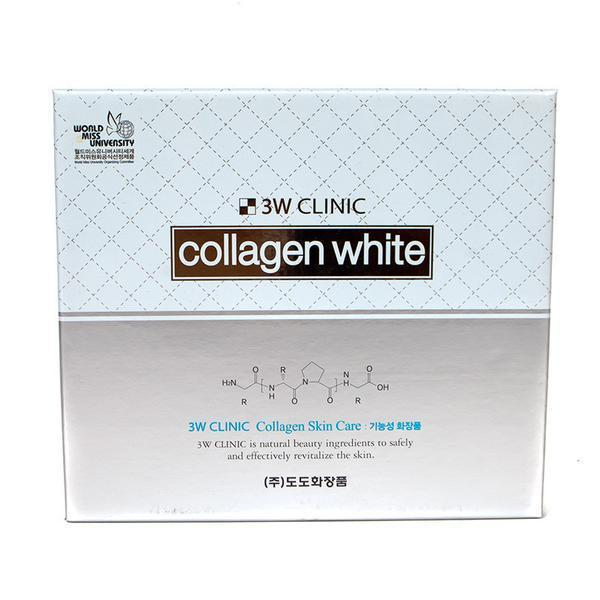3W CLINIC Collagen Whitening Skincare Set