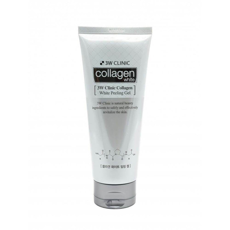 3w clinic collagen white peeling gel