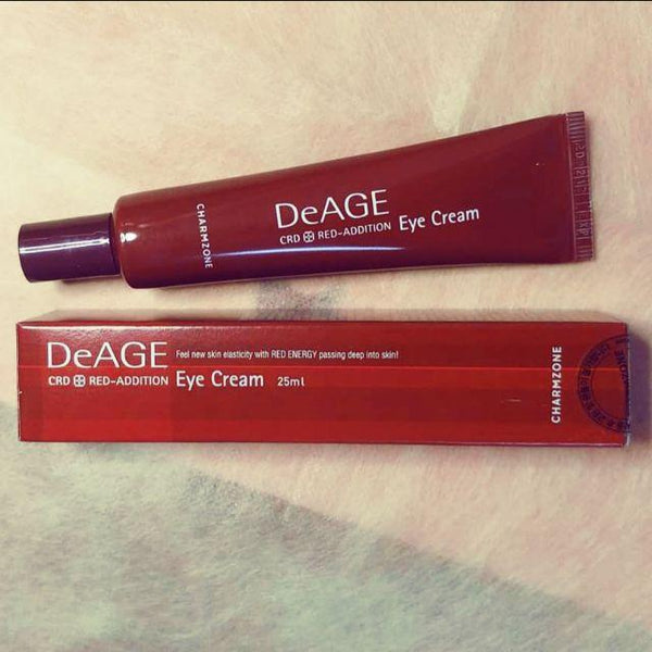 CHARMZONE DeAGE Red-Addition Eye Cream, 25ml