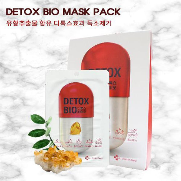 Dr. Skin Care Detox Bio Mask, 1pc