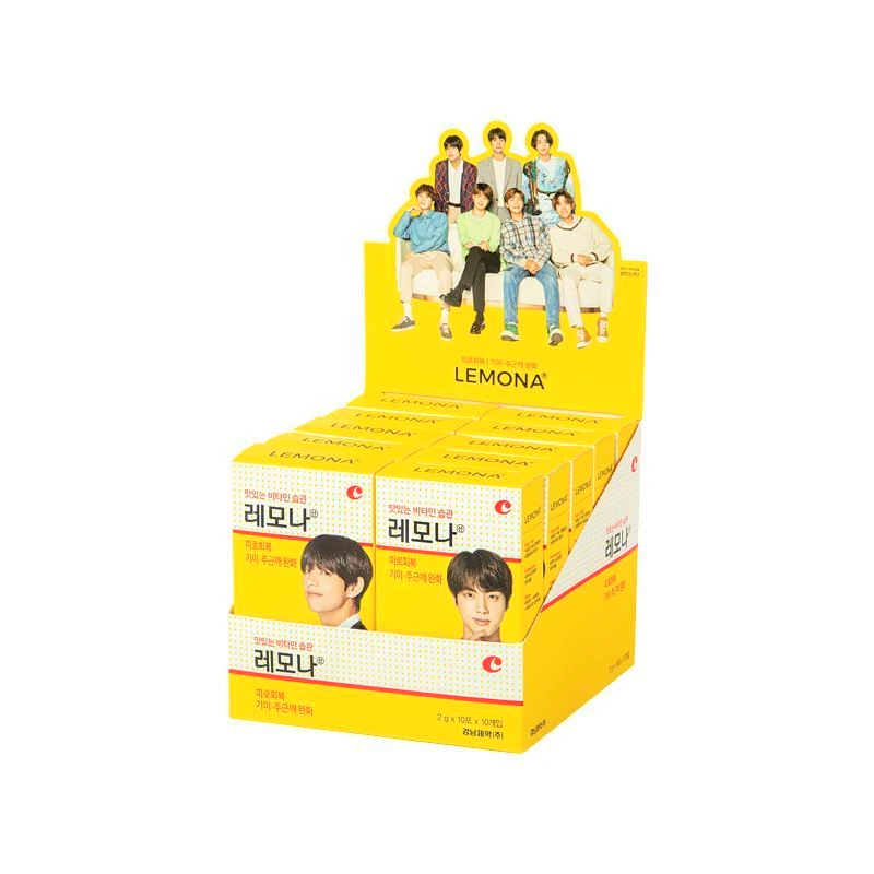 [limited edition] LEMONA Vitamin C 500mg BTS Edition (2g*20pcs)