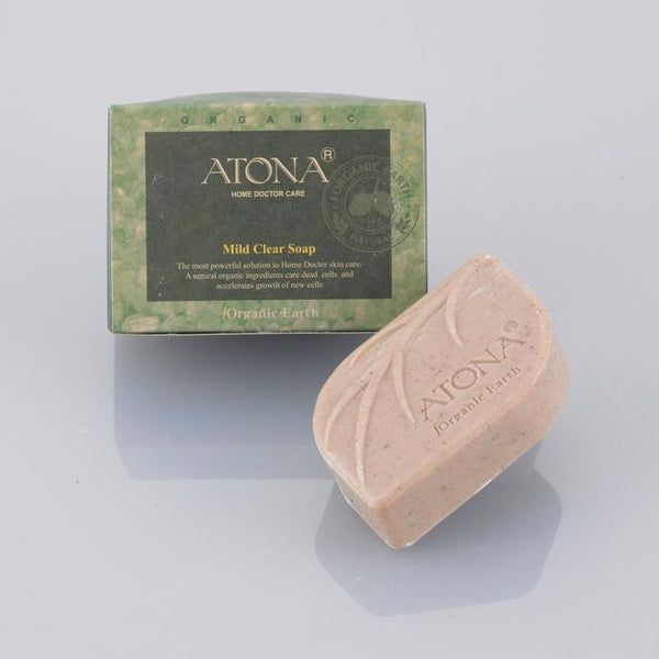 ATONA Mild Clear Soap, 100g (for eczema & dry sensitive skin)