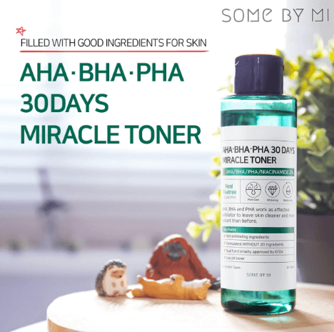 Some by mi AHA BHA PHA Miracle Toner and Serum SET