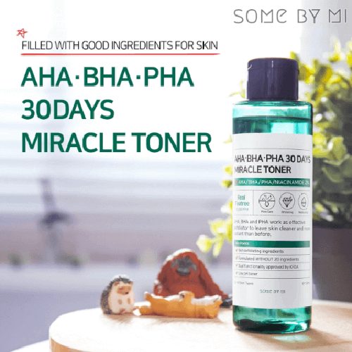 Some by mi AHA BHA PHA TRIO + V10 Vitamin Tone-up Cream SET