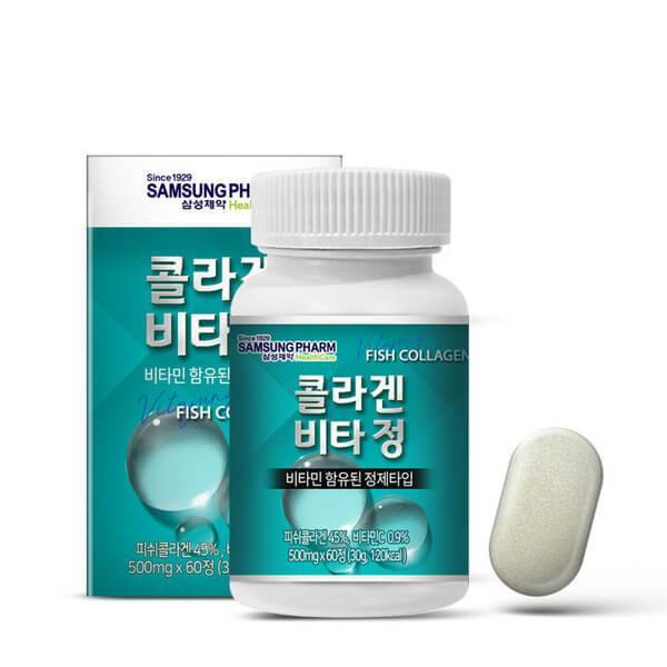 Collagen Vitamin Tablet , 500ml x 60 tablets (60days)