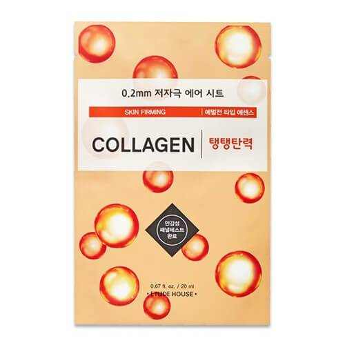 Etude House 0.2mm Therapy Mask - COLLAGEN, 1pc
