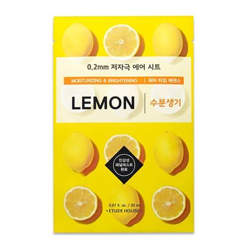 Etude House 0.2mm Therapy Mask - LEMON, 1pc