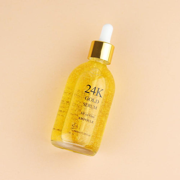 24K Gold Serum , 100ml (whitening and anti-aging)