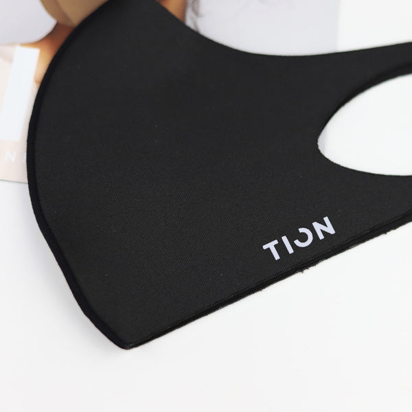 TION - 99% antibacterial Titanium Ion Mask, Washable and Reusable