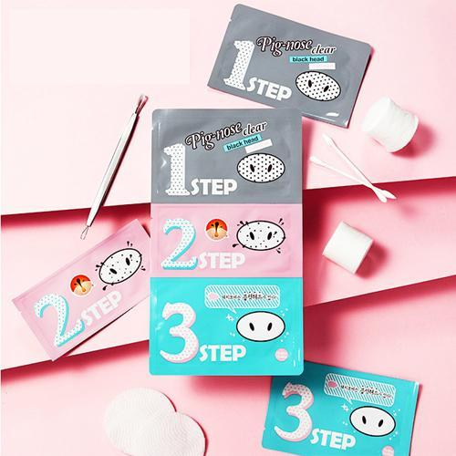 HOLIKA HOLIKA 3 Steps Nose Blackheads Removing Patch (1pc)