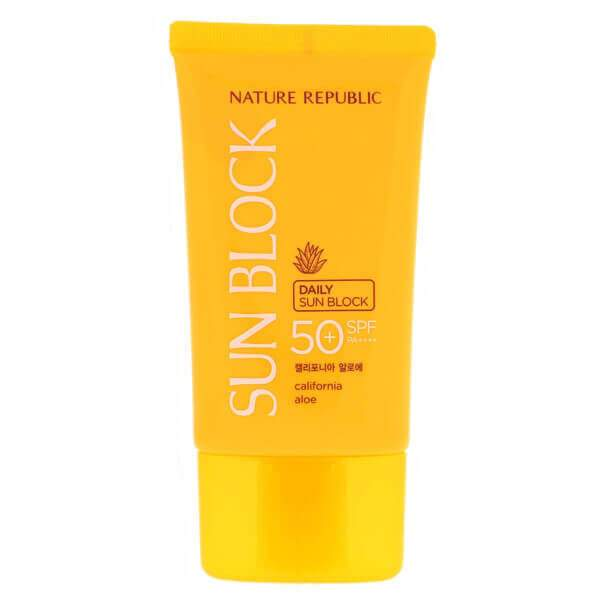 [Nature Republic] Daily SUN BLOCK California Aloe SPF 50 PA+++++,57ml