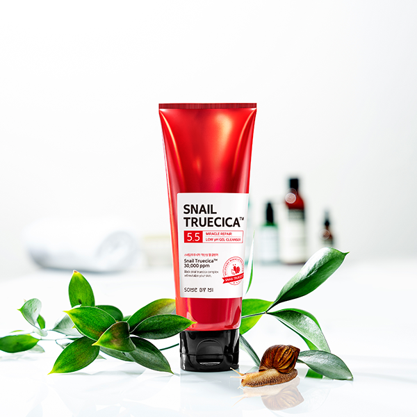 Somebymi Snail Truecica Miracle Repair Low Ph Gel CLEANSER, 100ml