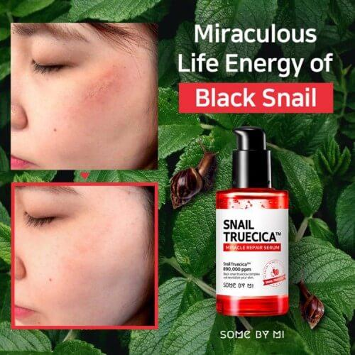 Somebymi Bye Bye Blackheads Cleanser + Snail Truecica Miracle Serum
