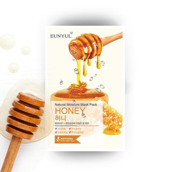Eunyul Natural Moisture Sheet Mask - HONEY,1pc