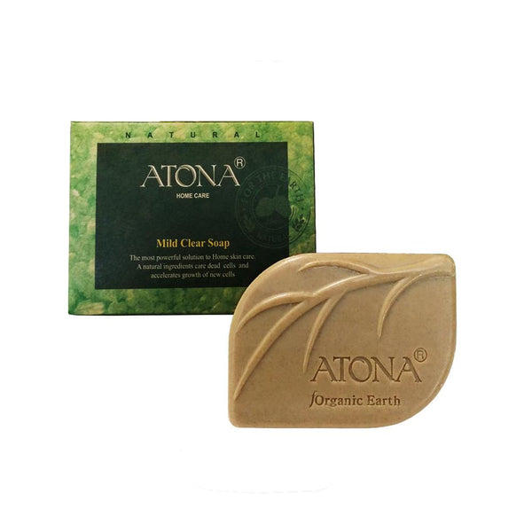 ATONA Mild Clear Soap, 12g SMALL size  (for eczema & dry sensitive skin)