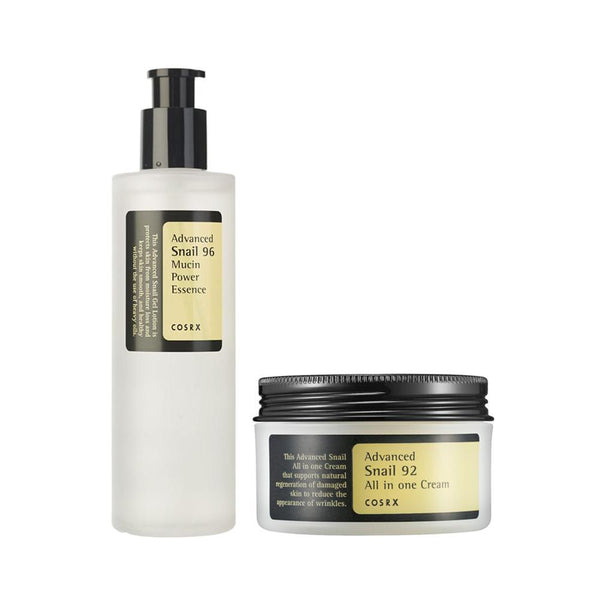 [COSRX] Snail DUO Set (For Anti-Wrinkle & Dry Skin)