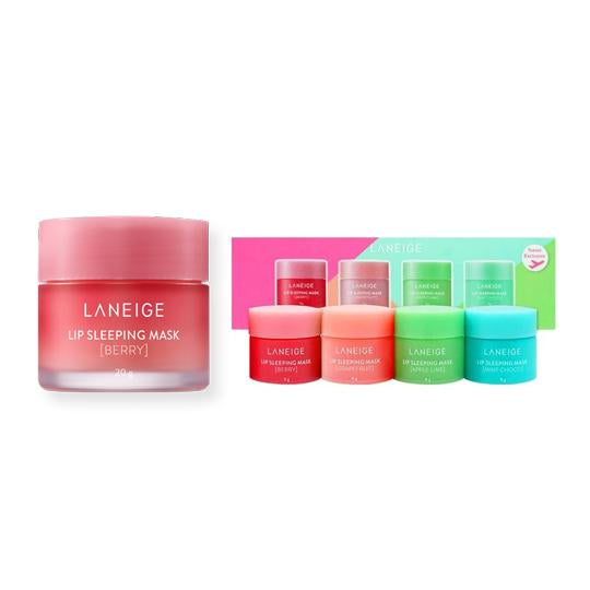 Laneige Lip Sleeping Mask + 4pcs MINI Kit SET