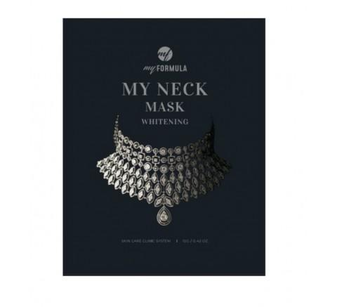 (My Formula) My NECK Mask,1pc #WHITENING