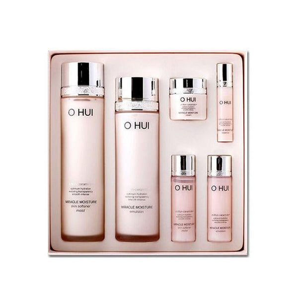 OHUI Miracle Moisture Skin Care SET (hydration / anti-wrinkle)