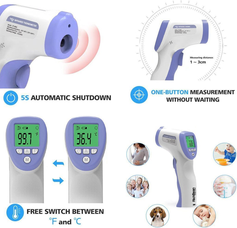 INFRARED THERMOMETER DT-8826