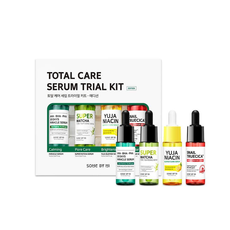 SOME BY MI - Total Care Serum Trial Kit, 14ml each