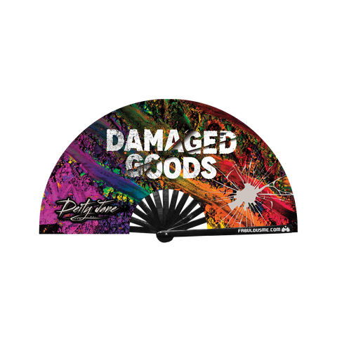 "DEITY JANE ""DAMAGED GOODS"" FAN"