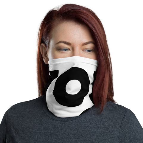 """YOU DO YOU"" NECK GAITER - WHITE"