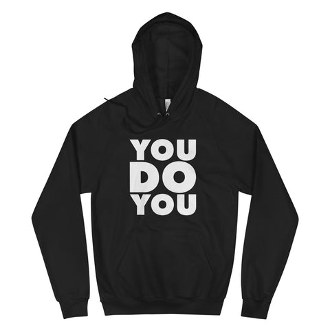 "BLACK ""YOU DO YOU"" BLOCK HOODIE"