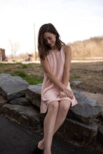 Load image into Gallery viewer, Blushing Suede Dress