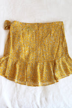 Load image into Gallery viewer, Lemon Drop Ruffle Wrap Skirt