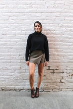 Load image into Gallery viewer, Gertrude Button Mini Skirt