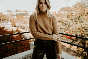Classic Kate Turtleneck Sweater