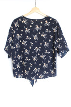 Load image into Gallery viewer, Bohemian Style, navy top