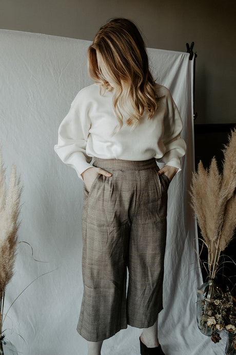 Delaney Plaid Pant
