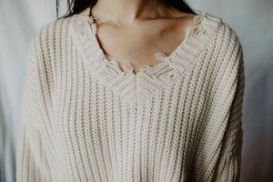 Holey Knit Sweater