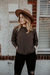 Mayer Charcoal Sweatshirt