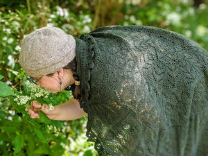 Available Now: Treegarth Shawl (Free Pattern)
