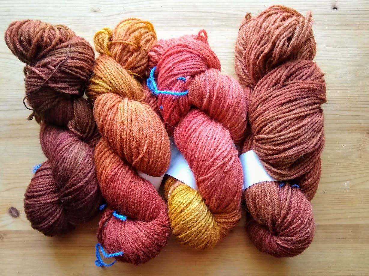 Not-Quite-Donn: Rustic Worsted