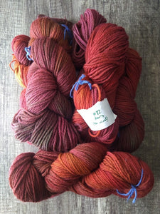 Not-Quite-Dearg: Rustic Worsted