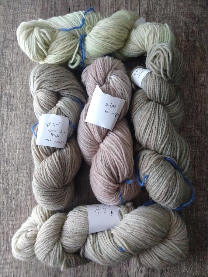 Not-Quite-Liath: Rustic Worsted