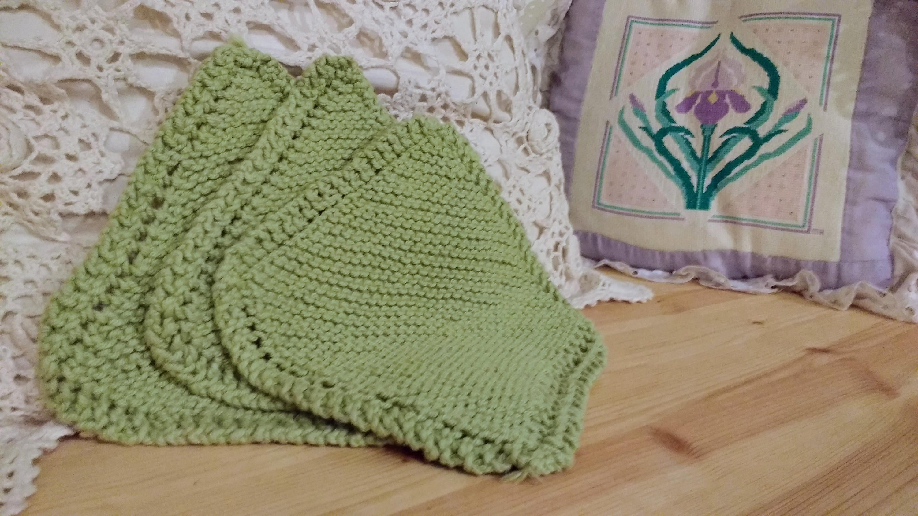 Washcloth Set - Honeydew - Ready To Ship